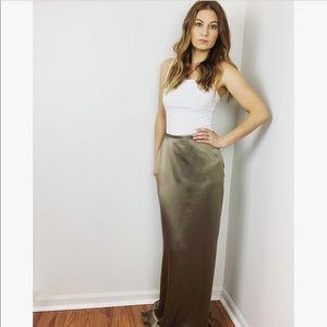 Vintage Oscar de la Renta Maxi Skirt